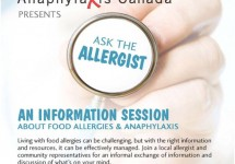 Anaphylaxis Canada – Ask the Allergist