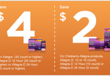 Allegra Coupons for Allergies