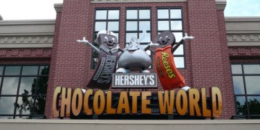 Hershey's Chocolate World and Food Allergies