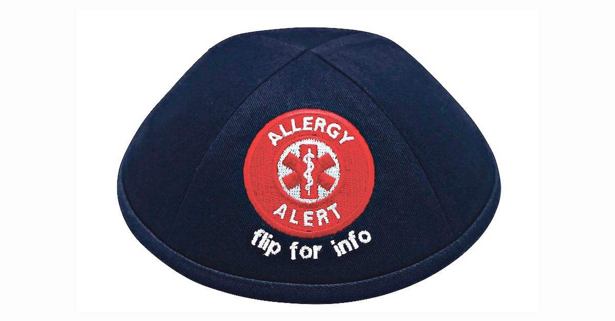 A Kippah to Keep Kids With Allergies Safe