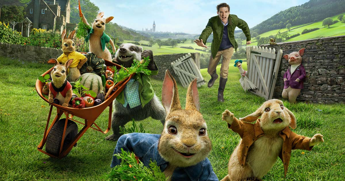 Peter Rabbit hops into controversy