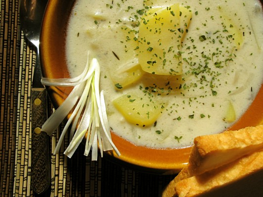 Potato Leek Soup Recipe