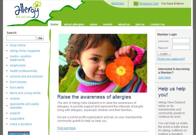 Allergy New Zealand