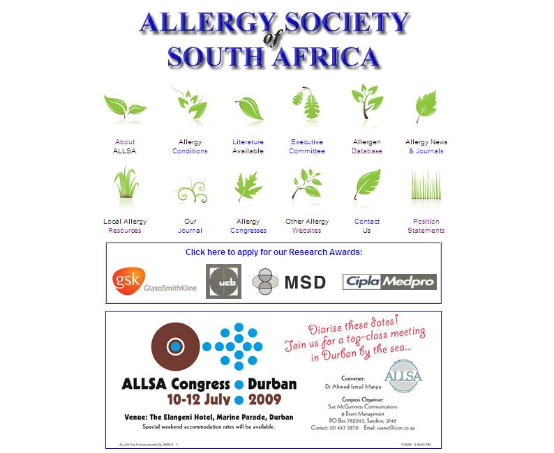 Allergy Society of South Africa (ALLSA)