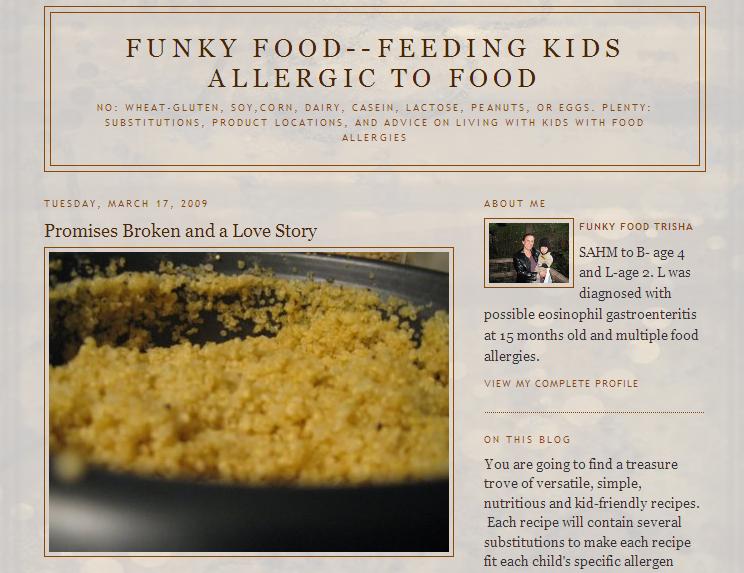 Funky Food Allergies–Feeding Kids Allergic to Food