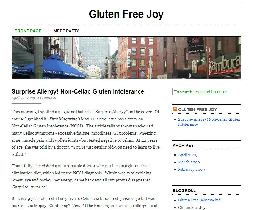 Gluten-Free Joy