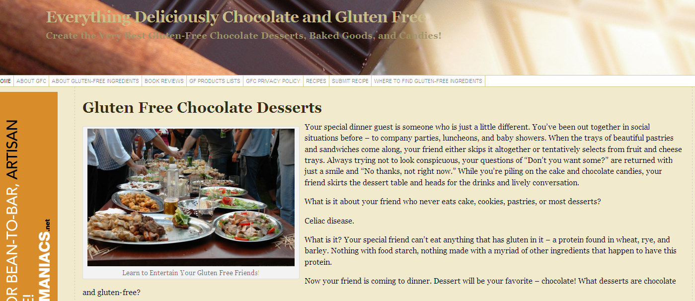 Everything Deliciously Chocolate and Gluten Free