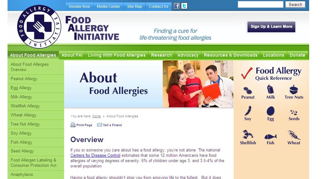 Food Allergy Initiative (FAI)