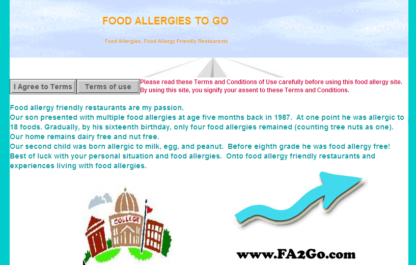 Food Allergies To Go