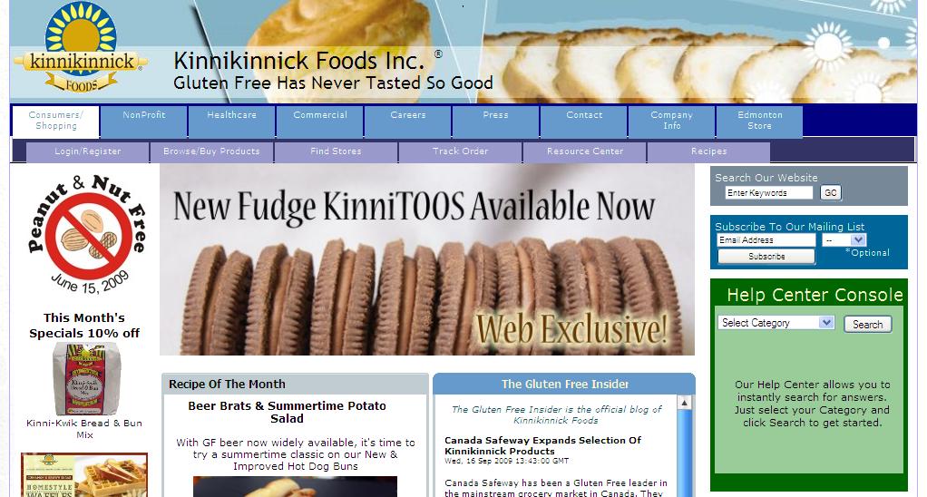 Kinnikinnick Foods Inc.