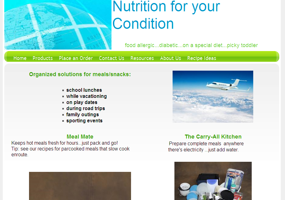 Nutrition for Your Condition