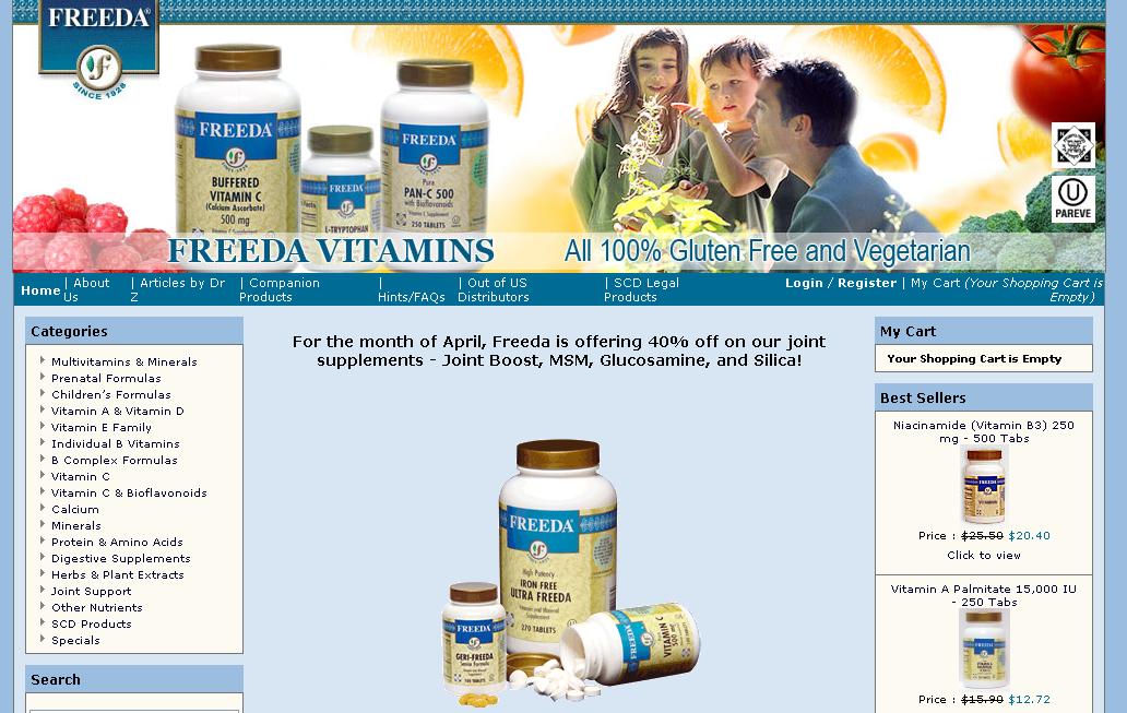 Freeda Vitamins