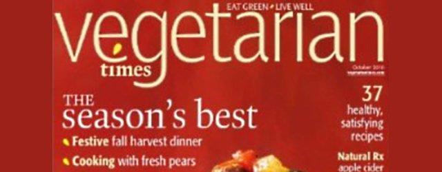 Vegetarian Times 2010 Chef's Challenge
