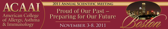 American College of Allergy, Asthma and Immunology's 69th Annual Meeting