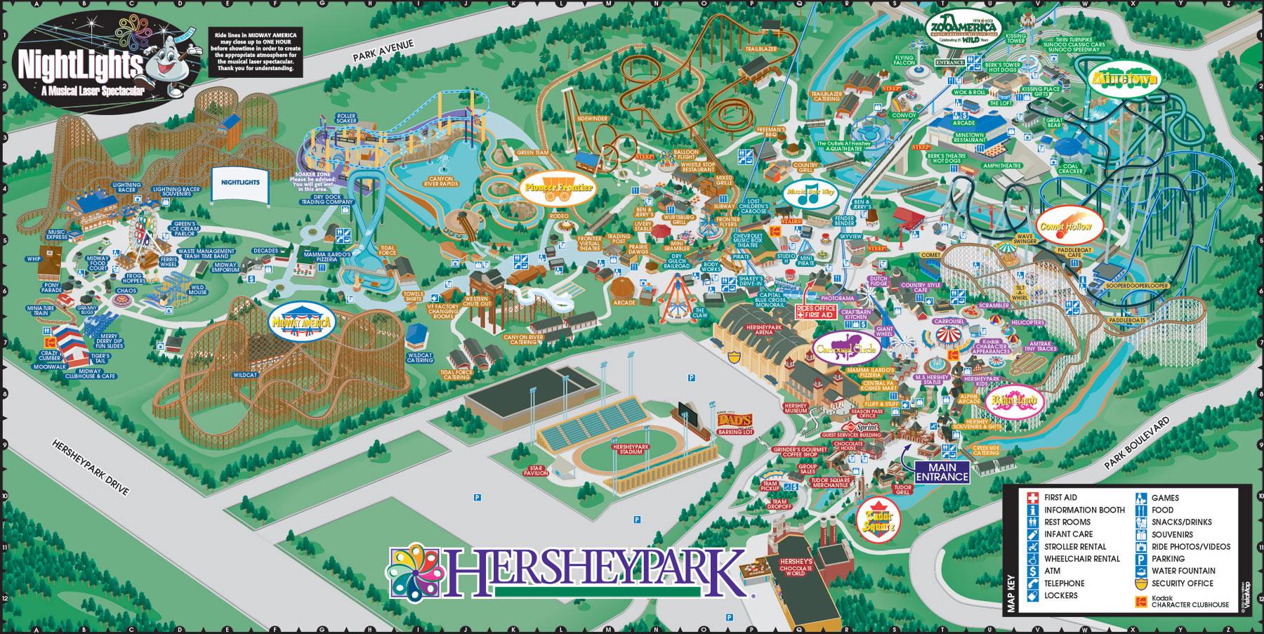 Hersheypark and Food Allergies