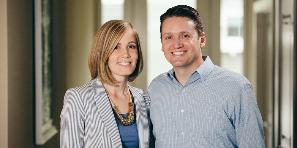Sandy and Eric Wengreen, founders of EpiShell