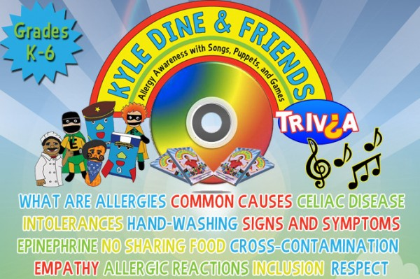 Kyle Dine & Friends Food Allergy Video